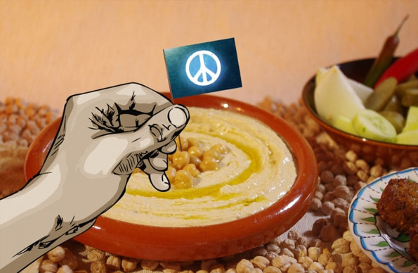 후무스 이야기  Make Hummus Not War